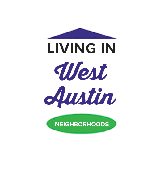 Graphic that says Living in West Austin