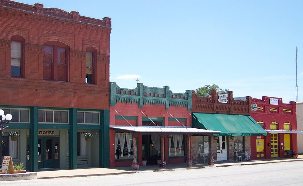Downtown Smithville, Texas